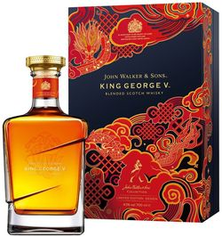 Johnnie Walker Blue Label King George V 0,7l 43% GB L.E. Chinese New Year 2021