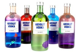 Absolut Vodka Unique Edition 1l 40% L.E.