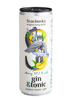 Svachovka Gin & Tonic Strong 0,25l 10,1%